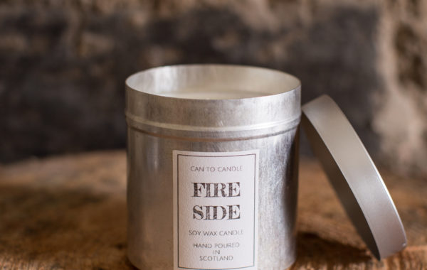 Fireside can candle 2