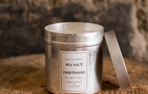 Sea Salt can candle 2